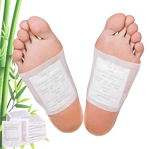Premium Foot Pads: Rapid Pain Relief & Foot Health, Fresh Scent, Foot Care, Sleeping & Anti-Stress Relief, No Stress Package New Formula (20)
