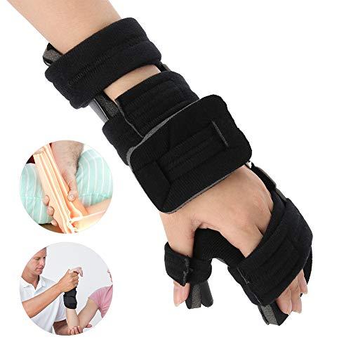 Handgelenkschiene für Lindert Handgelenkschmerz, Einstellbar Handgelenkstütze Handgelenkbandage zur Handstabilisierung, Karpaltunnel Handgelenkorthese zur Fixierung und Korrektur(M-Links)