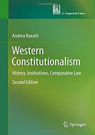 Western Constitutionalism: History, Institutions, Comparative Law