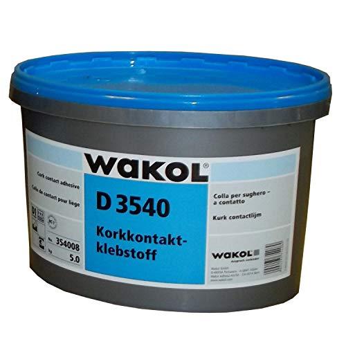 Wakol Kork-Kontaktkleber D 3540 (2.5 kg Eimer)