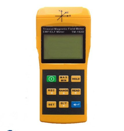 GOWE USB Datalogger 3-Axis EMF Electromagnetic Test Magnetic Field Tester Gauss Meter Extremely Low Frequency 30 to 2000Hz