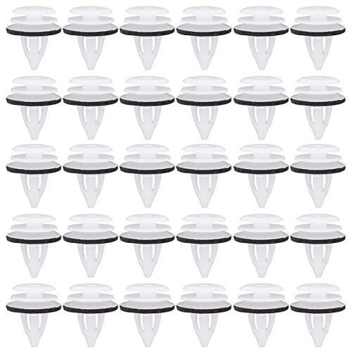 30 Stück Innenverkleidung Türverkleidung Befestigung Clips Klammern Stoßstangen Zierleisten Befestigungclips für 3er E36, E46, E90, E91, E92