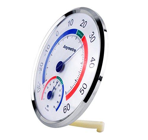 PRECORN Thermometer - Hygrometer Temperatur / Luftfeuchtigkeit Klimakontrolle in weiß