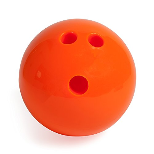 Champion Sports Plastic Bowling Ball: Rubberized Soft Ball...