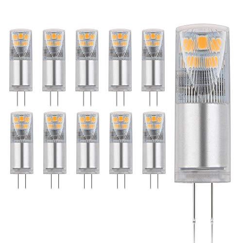 10x G4 LED Leuchtmittel 2,45W AC/DC neutralweiß 4000K Lampen Stecklampe Halogen Ersatz SMD 275 Lumen 10er Pack DE-Händler