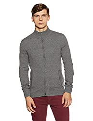 Celio Mens Cotton Cardigan