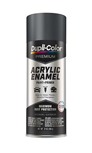 Dupli-Color EPAE10400 Premium Acrylic Enamel Spray PaintMachinery Gray, 12 Oz.