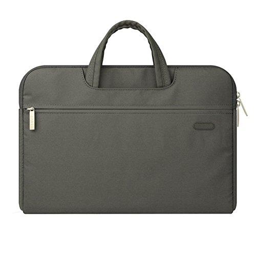 Laptop Hülle Tasche Laptoptasche Umhängetasche für MacBook Pro, MacBook Air, Notebook und Tablet Grau 11.6 Zoll