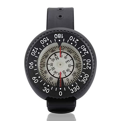 Aeloa Orologio Compass-Scuba Diving Orologio Impermeabile Night Vision Bussola da Polso Emisfero Meridionale e Cinturino per Immersioni subacquee