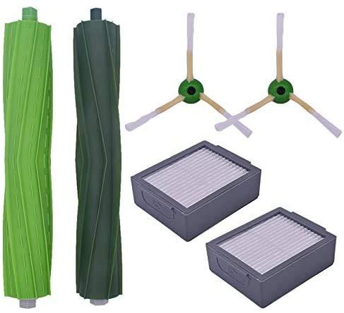 Recambios para aspiradoras con filtro lateral, filtro HEPA, esponja y trapeador de pasta mágica, compatible con CONGA EXCELLENCE Limpiador robótico, piezas de aspiradora para el hogar (color: B) Va