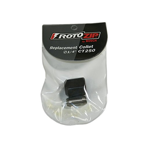 RotoZip SCS01 Genuine OEM Replacement Collet and Nut Kit # CT250