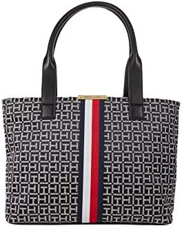 Tommy Hilfiger Carmen Tote Black White One Size product image