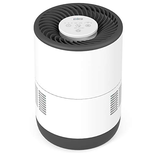 Pure Enrichment MistAire Eva - Mist-Free Evaporative Humidifier (2.8L) with Antimicrobial Filter,...