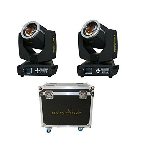 Winsune Stage Light Unit Sharpie Fascio Testa Mobile Spot 7R 230 Watt 2PCxLOT Con Flight Case Spedizione Gratuita