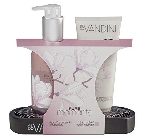 aldoVANDINI Geschenkset Soap und Cream Pure, 1er Pack (1 x Set)