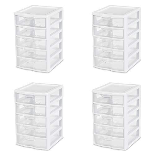 sterilite small 3 drawer unit - 6