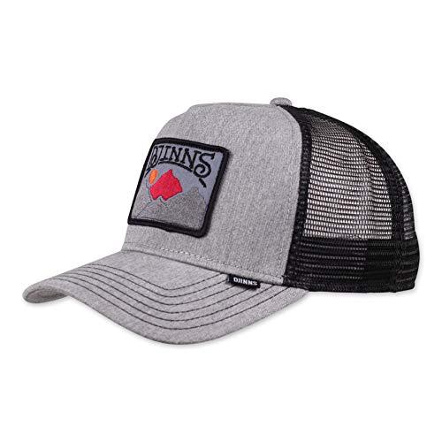 Djinns - Trek A Patch (Grey/Black) - Trucker Cap Meshcap Hat Kappe Mütze Caps