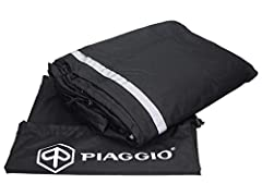 OEM Piaggio Scooter Cover Imported from Italy. Part nr 605290M001 Protects against sun, rain, snow and wind water-resistant UV stabilized Made from high quality polyester