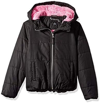 Rothschild Girls' Big Jacket, Black, M