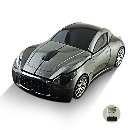 ZREAL 2,4 GHz draadloze draadloze optische muis auto vorm muis +USB-ontvanger voor PC laptop