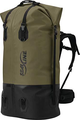 SealLine Pro Pack Waterproof Backpack, Brown, 120-Liter
