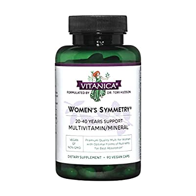 Women's Symmetry utilizes premium grade vitamins, minerals and nutrients in ratios specifically tailored for a woman's body Designed to support women in their 20's, 30's and 40's Hypoallergenic and preservative free Suitable for vegetarians and vegan...