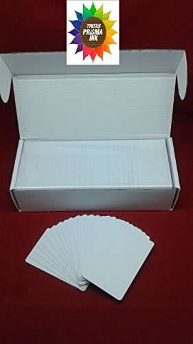 Read About 230 Inkjet PVC Card Canon Epson Artisan 50 1430 L800 L805 Rx 595 R280 R390 T50 Double Sid...