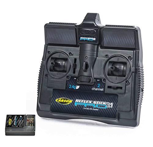 Carson 500500084 - FS Reflex Stick Pro 3.1 2.4G 2 Kanal, Modellbau, Zubehör, Fernsteuerung, Empfänger