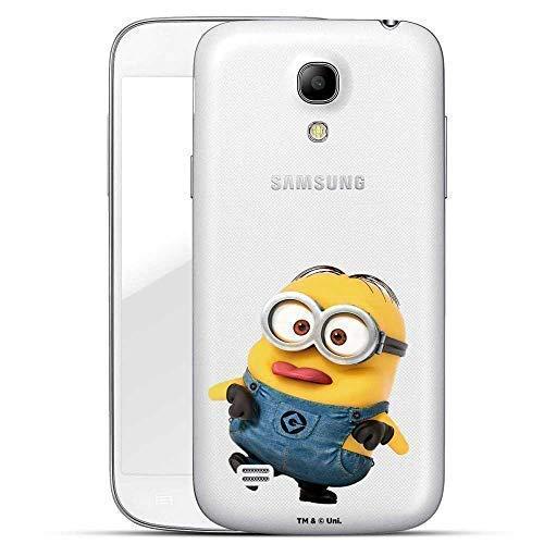 Hülle für Samsung Galaxy S4 - Minions Handyhülle mit Motiv und Optimalen Schutz Tasche Case Hardcase Cover Schutzhülle - Kleiner Spott