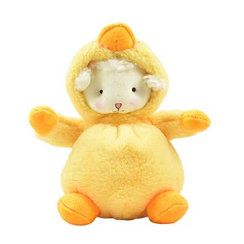 GRASARY Muñeca de juguete con diseño de dibujos animados, ideal como regalo de cumpleaños para niños, 2 unidades