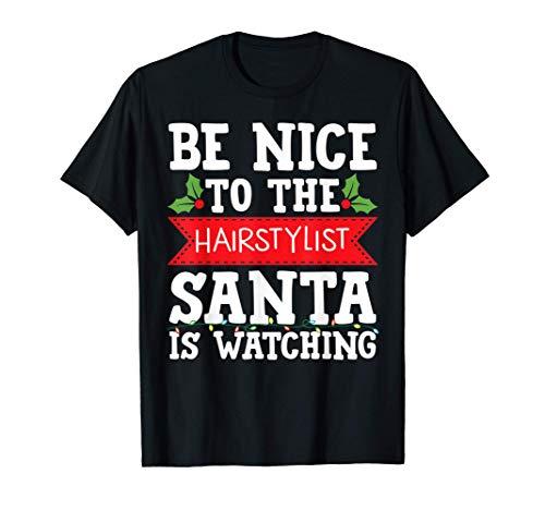 Peluquería idea de regalo de Navidad graduación tatuaje Camiseta