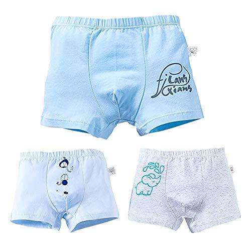 Duevin letterset voor baby/katoenen boxerset, schattig karikatuurpatroon, opdrukken, inscriptieset van 3