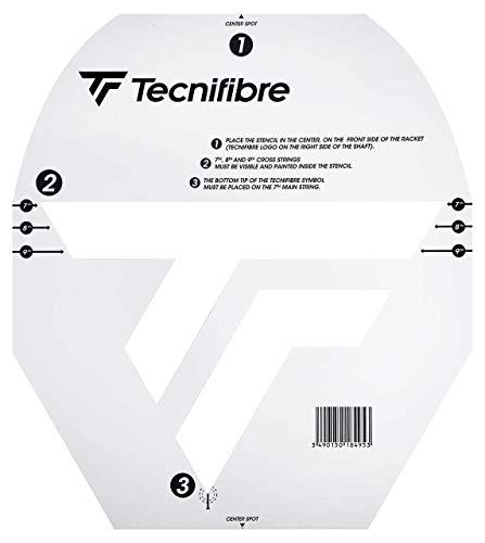 Tecnifibre Logo Squashschläger Schablone