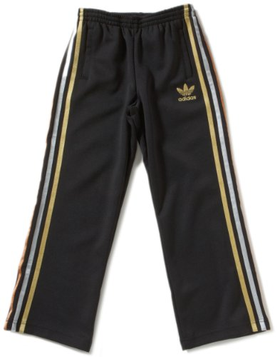 adidas Jungen Laufhose AC Olymp, black, 140, X41287