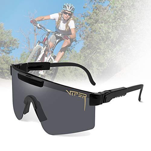 CWWHY Gafas De Sol Polarizadas, Gafas De Sol De Ciclismo, Gafas De Sol Deportivas para Ciclismo Hombres Mujeres Deportes Al Aire Libre Pesca Golf Gafas De Béisbol Gafas A Prueba De Viento,C01