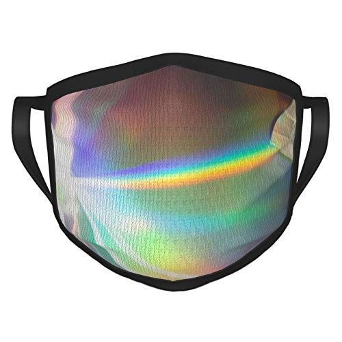 Multiple Prisms Reflecting Light Bike Face Bandanas Reusable Washable Mouth Cover Anti Haze Dust Pollution For Men/Women