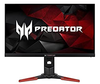 "Acer Predator XB273K Pbmiphzx 27"" UHD (3840 x 2160) IPS Monitor with NVIDIA G-SYNC, VESA Certified Display, HDR400, Quantum Dot, 144Hz, DCI-P3 , Delta E<1 (Display Port & HDMI Port) (B07LCDTRN4) 