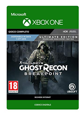 Tom Clancy's Ghost Recon Breakpoint Ultimate Edition - Xbox One - Codice download