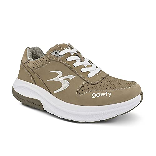 Gravity Defyer Women's G-Defy Orion Athletic Shoes 9 XW US - Pain Relief Casual Shoes for Heel Spurs, Knee Pain, Back Pain, Plantar Fasciitis Shoes Grey