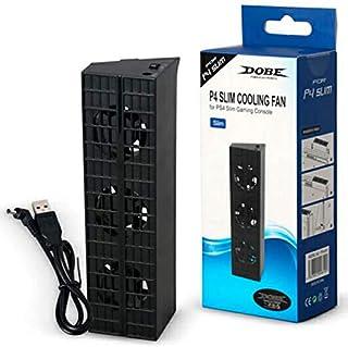 Cooler Turbo Ventilador Automático Com 3 Fan para Playstation 4 Slim DOBE TP4-819