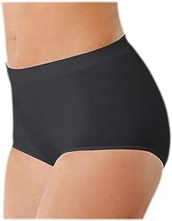 ff925b301f Intimidea Slip Culotte a Vita Alta in Microfibra Pantaloncino Slip Senza  Cuciture e Tassello in Puro