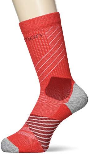 Salomon Unisex-Erwachsene Socks XA PRO Shell-Jacke, Goji Beere/Red Dahlia, Medium