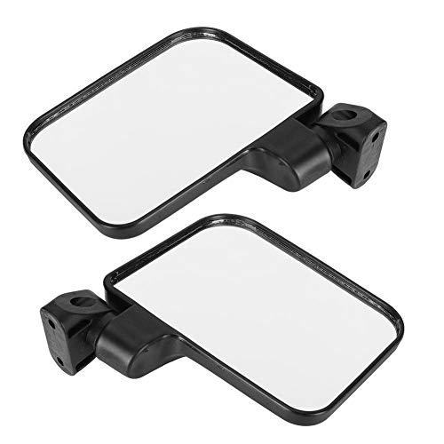 VGEBY1 1 1 paar achteruitkijkspiegels voor driewielige pickup E-Blikes Scooter Motorfiets kunststof zwart