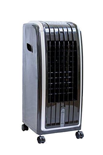 Deluxe Climatizador Calefactor Ventilador Digital Frío 85 W | Calor 1000 W - 1900 W
