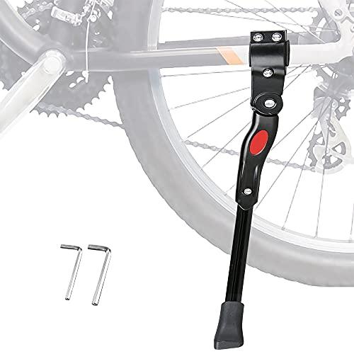 Pata de Cabra para Bicicleta con Llave Hexagonal, Aluminio S