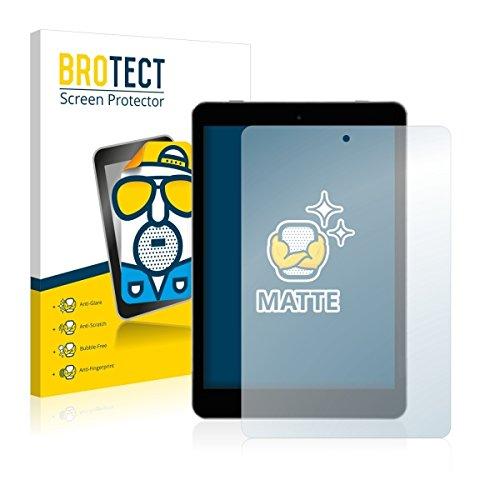 2X BROTECT Matt Bildschirmschutz Schutzfolie für Kiano SlimTab 8 (matt - entspiegelt, Kratzfest, schmutzabweisend)
