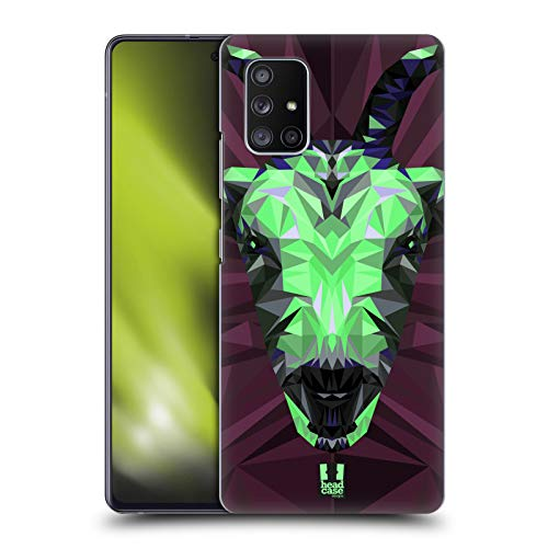 Head Case Designs Goat Geometric Animals Series 2 Hard Back Case Compatible with Samsung Galaxy A51 5G (2020)