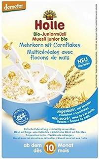Papilla de muesli multicereales con maíz +10M Holle, 250 g
