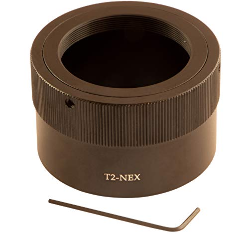 T2-NEX T/T2 Anillo adaptador de montura de objetivo para Sony Alpha A6600...