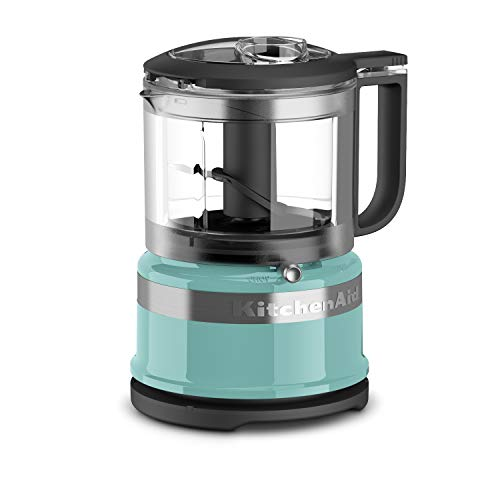 KitchenAid 3.5 Cup Mini Food Processor, Aqua Sky Blue